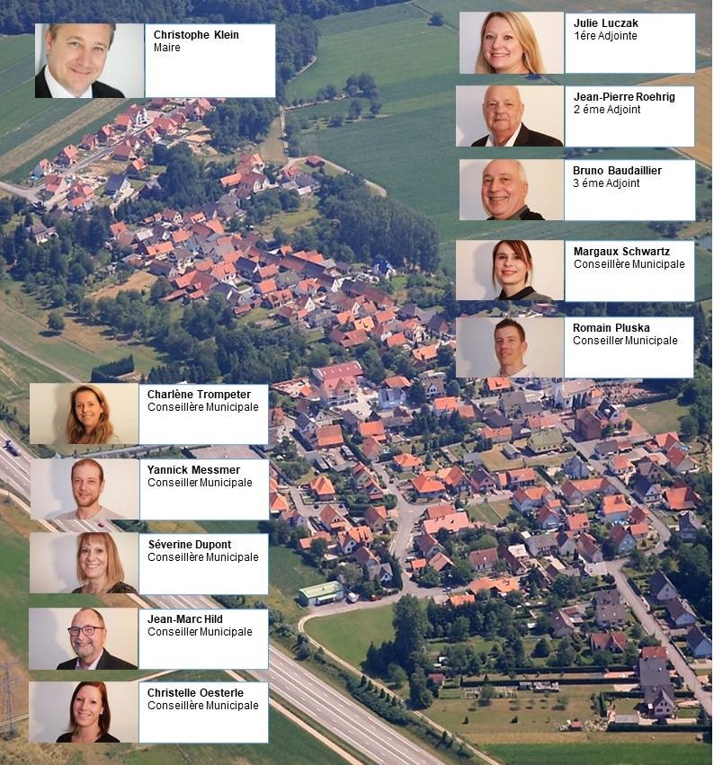 Equipe municipale Kessledorf
